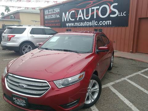 2013 Ford Taurus for sale at MC Autos LLC in Palmview TX