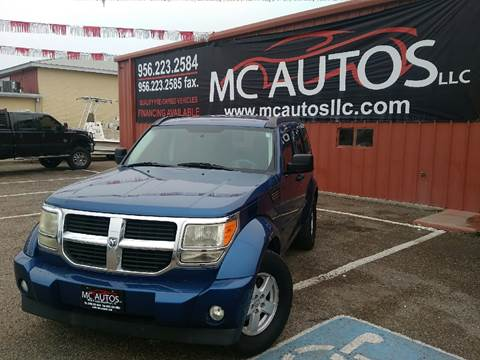2009 Dodge Nitro for sale at MC Autos LLC in Palmview TX