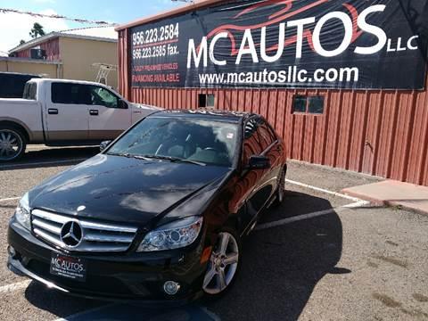 2010 Mercedes-Benz C-Class for sale at MC Autos LLC in Palmview TX