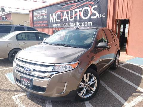 2013 Ford Edge for sale at MC Autos LLC in Palmview TX