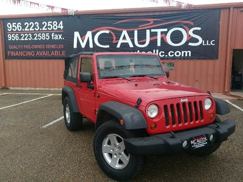 2011 Jeep Wrangler for sale at MC Autos LLC in Palmview TX