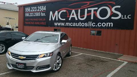 2014 Chevrolet Impala for sale at MC Autos LLC in Palmview TX