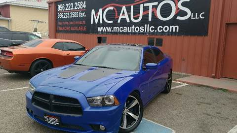 2013 Dodge Charger for sale at MC Autos LLC in Palmview TX