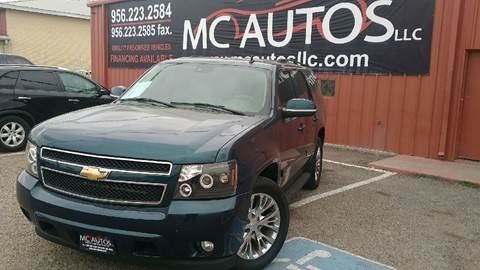 2007 Chevrolet Tahoe for sale at MC Autos LLC in Palmview TX