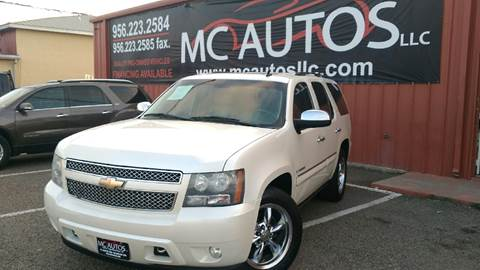 2008 Chevrolet Tahoe for sale at MC Autos LLC in Palmview TX