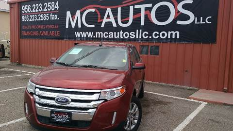 2014 Ford Edge for sale at MC Autos LLC in Palmview TX