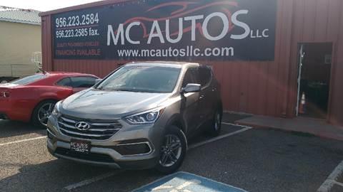 2017 Hyundai Santa Fe Sport for sale at MC Autos LLC in Palmview TX