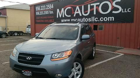 2009 Hyundai Santa Fe for sale at MC Autos LLC in Palmview TX