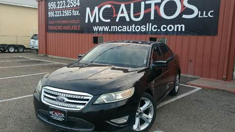 2011 Ford Taurus for sale at MC Autos LLC in Palmview TX