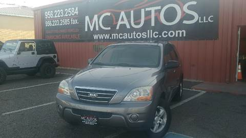 2008 Kia Sorento for sale at MC Autos LLC in Palmview TX