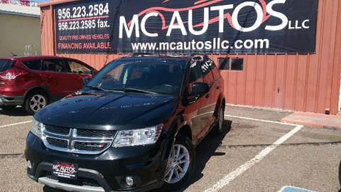 2015 Dodge Journey for sale at MC Autos LLC in Palmview TX