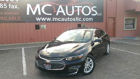 2016 Chevrolet Malibu for sale at MC Autos LLC in Palmview TX