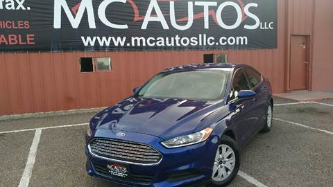 2013 Ford Fusion for sale at MC Autos LLC in Palmview TX