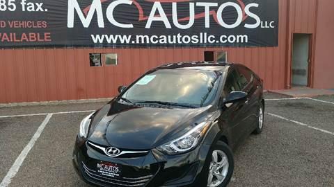 2014 Hyundai Elantra for sale at MC Autos LLC in Palmview TX