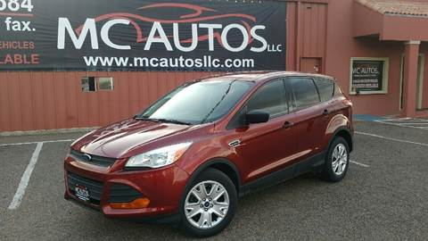 2015 Ford Escape for sale at MC Autos LLC in Palmview TX