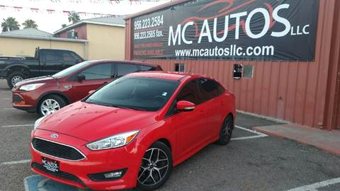 2015 Ford Focus for sale at MC Autos LLC in Palmview TX
