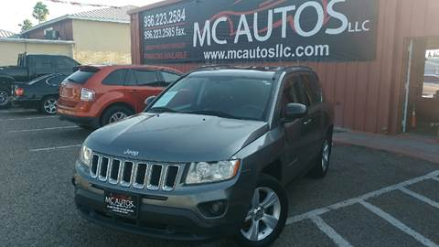 2012 Jeep Compass for sale at MC Autos LLC in Palmview TX