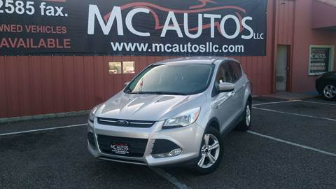 2016 Ford Escape for sale at MC Autos LLC in Pharr TX