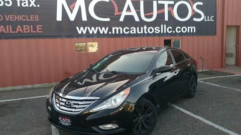 2011 Hyundai Sonata for sale at MC Autos LLC in Pharr TX