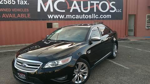 2012 Ford Taurus for sale at MC Autos LLC in Pharr TX