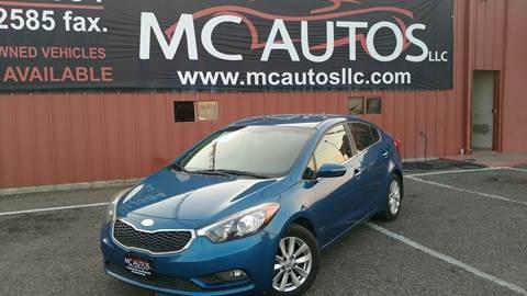 2014 Kia Forte for sale at MC Autos LLC in Pharr TX