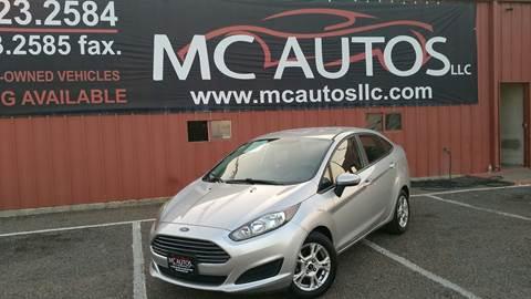 2014 Ford Fiesta for sale at MC Autos LLC in Pharr TX