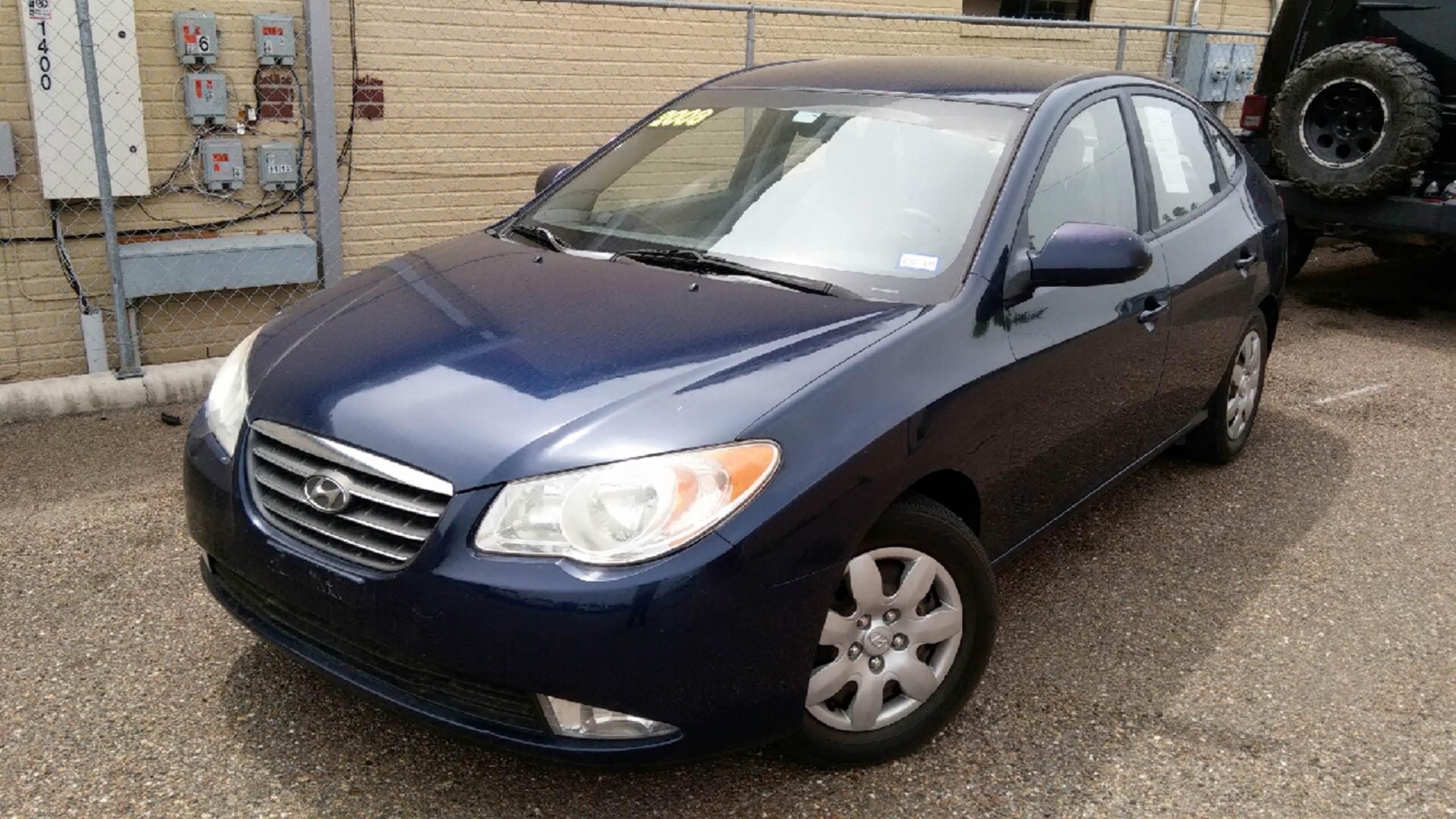 2008 Hyundai Elantra for sale at MC Autos LLC in Palmview TX