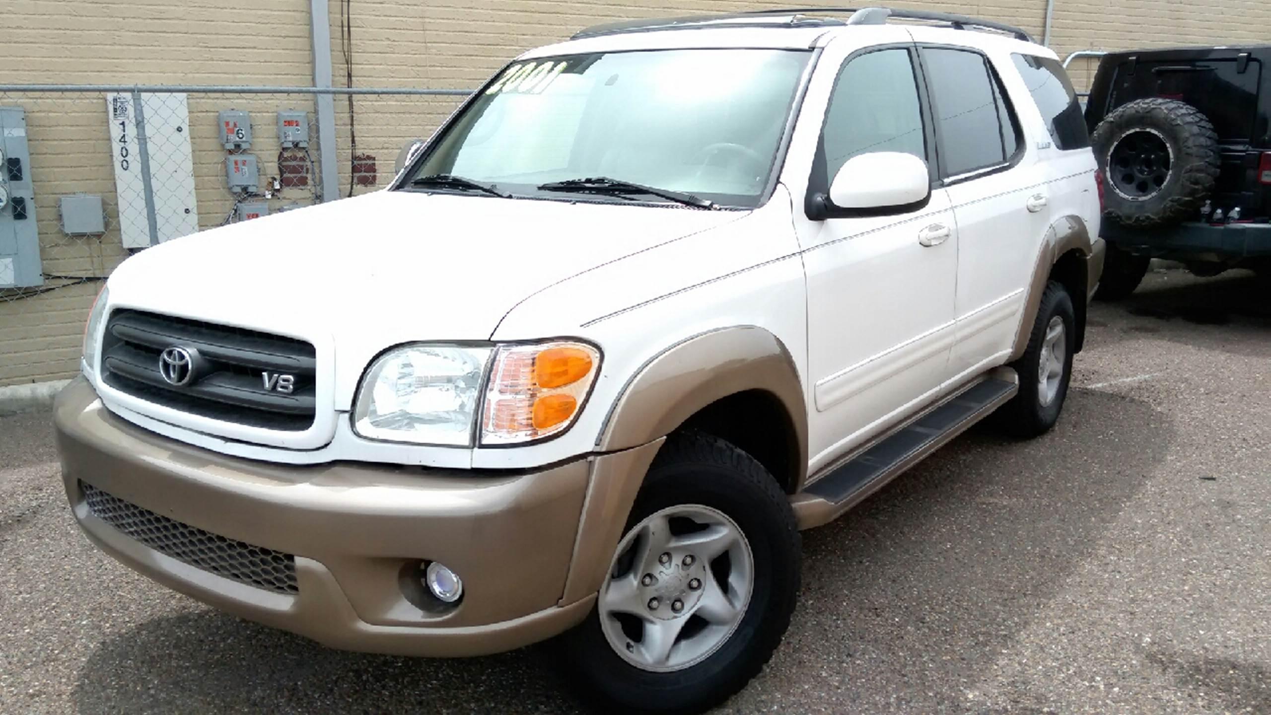 2001 Toyota Sequoia for sale at MC Autos LLC in Pharr TX