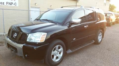2006 Nissan Armada for sale at MC Autos LLC in Pharr TX