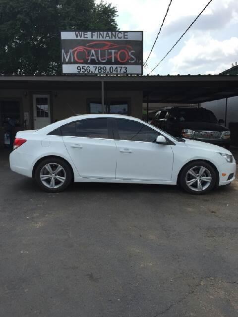 2012 Chevrolet Cruze for sale at MC Autos LLC in Pharr TX