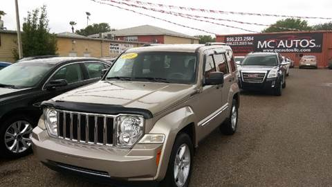2011 Jeep Liberty for sale at MC Autos LLC in Pharr TX