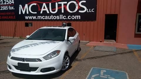 2013 Dodge Dart for sale at MC Autos LLC in Palmview TX