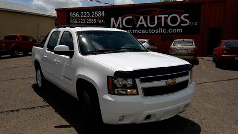 2007 Chevrolet Avalanche for sale at MC Autos LLC in Palmview TX