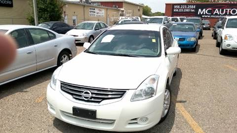 2011 Nissan Altima for sale at MC Autos LLC in Pharr TX