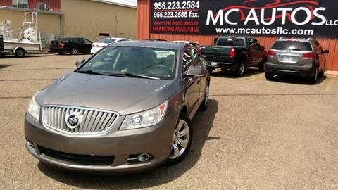 2010 Buick LaCrosse for sale at MC Autos LLC in Palmview TX