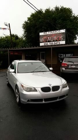 2007 BMW 5 Series for sale at MC Autos LLC in Pharr TX