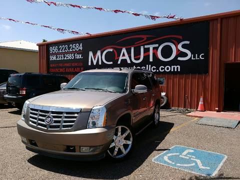 2007 Cadillac Escalade for sale at MC Autos LLC in Palmview TX