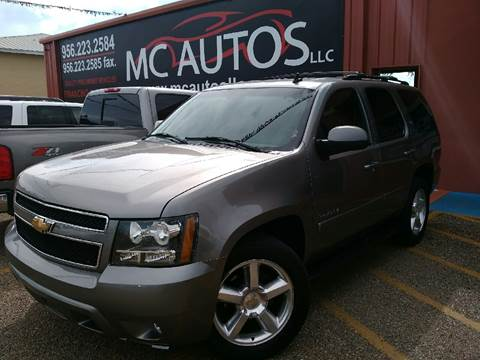 2007 Chevrolet Tahoe for sale at MC Autos LLC in Pharr TX