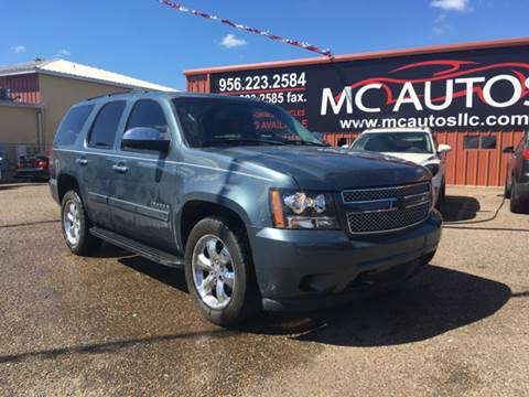 2008 Chevrolet Tahoe for sale at MC Autos LLC in Pharr TX