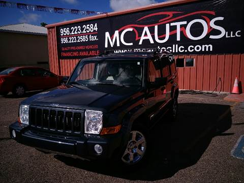 2007 Jeep Commander for sale at MC Autos LLC in Palmview TX