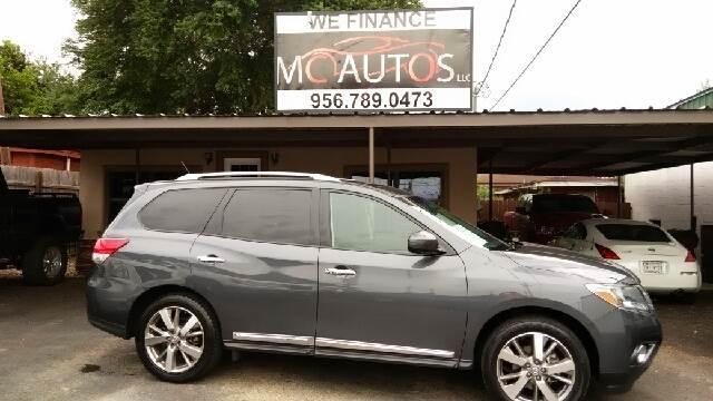 2013 Nissan Pathfinder for sale at MC Autos LLC in Pharr TX