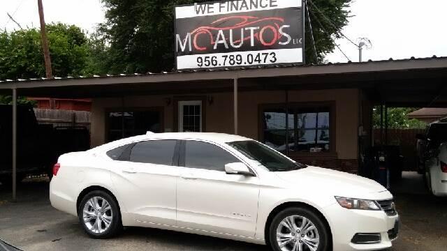 2014 Chevrolet Impala for sale at MC Autos LLC in Pharr TX