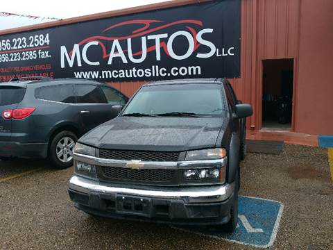 2006 Chevrolet Colorado for sale at MC Autos LLC in Palmview TX