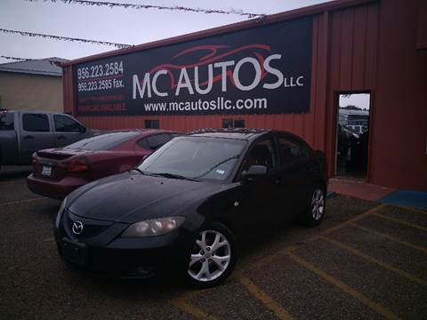 2009 Mazda MAZDA3 for sale at MC Autos LLC in Palmview TX