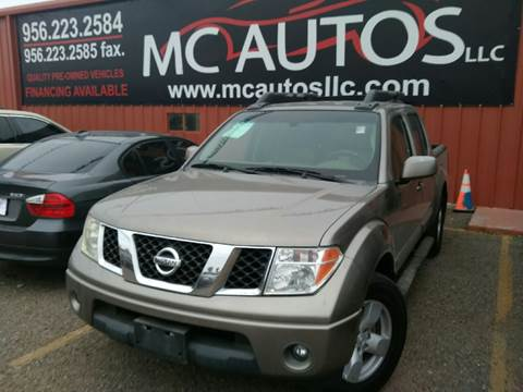 2006 Nissan Frontier for sale at MC Autos LLC in Pharr TX