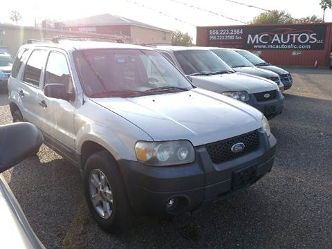 2006 Ford Escape for sale at MC Autos LLC in Pharr TX
