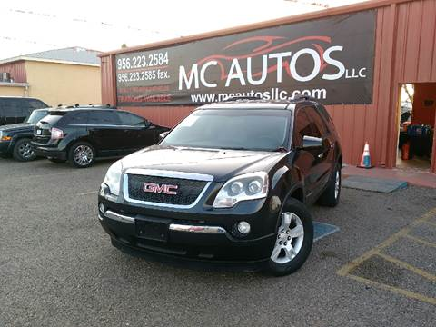 2007 GMC Acadia for sale at MC Autos LLC in Pharr TX
