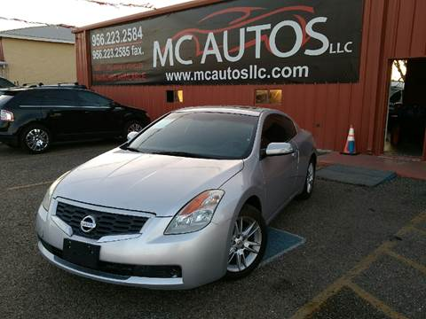 2008 Nissan Altima for sale at MC Autos LLC in Palmview TX