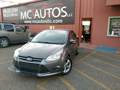 2014 Ford Focus for sale at MC Autos LLC in Palmview TX