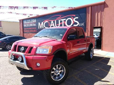 2009 Nissan Titan for sale at MC Autos LLC in Palmview TX